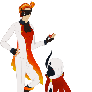 Amber's Masquerade & Ghirahim the Absol